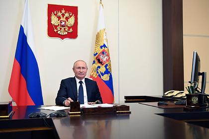 Путин поблагодарил участников конкурса «Большая перемена»