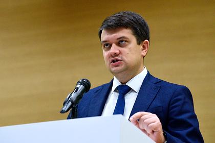 Спикер Верховной Рады выступил за пересмотр закона об украинизации