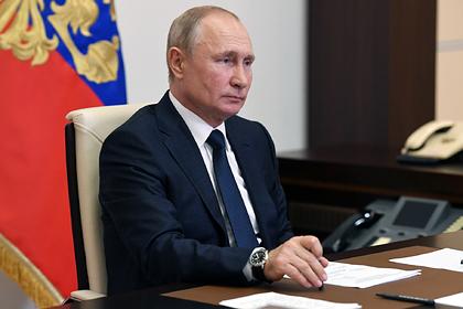 Путин отказался от голосования по Конституции в день парада Победы