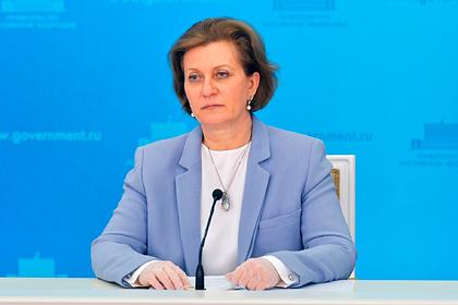 Попова заявила о снижении заболеваемости коронавирусом в России в 13 раз
