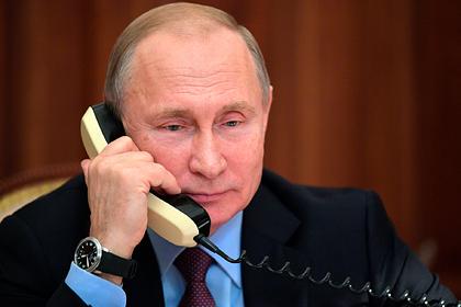 Путин созвонился с Трампом