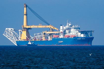 СМИ сообщили о смене владельца судна, способного достроить «Северный поток-2»