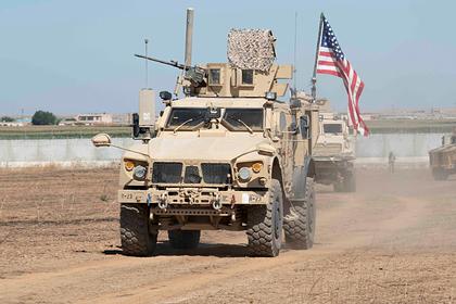 Сирийские крестьяне развернули колонну армии США