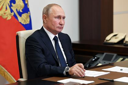 Путин одобрил план восстановления российской экономики