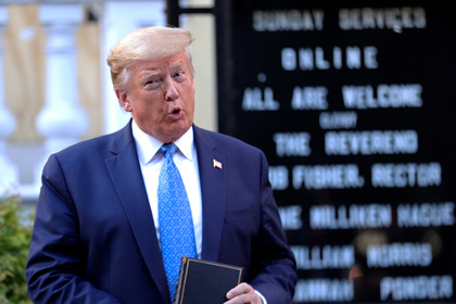 Трамп усомнился в способности Байдена прекратить беспорядки в США