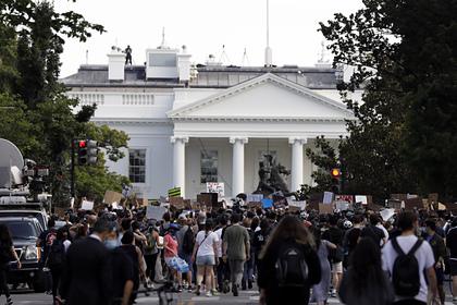 Белый дом признал проблему расизма в США