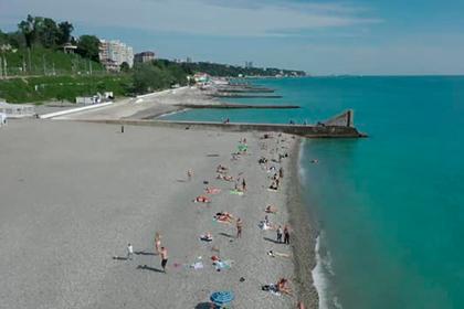 Старт курортного сезона в Сочи попал на видео