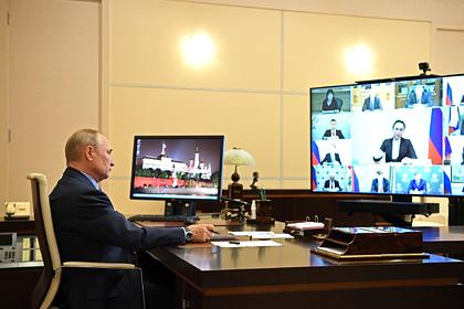 Путин рассказал о «внутренней кухне» своих совещаний