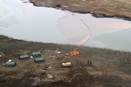 Стало известно о трех уголовных делах после разлива топлива в Норильске