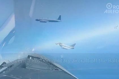 Появилось видео перехвата российского самолета британскими ВВС