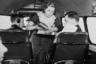 «Представьте, как будет выглядеть авиация, если молодые девушки станут постоянными членами экипажа. Представьте, какой эффект это окажет на путешествующих людей. Представьте, какую ценность они будут для нас представлять, аккуратно подавая еду и заботясь о благополучии пассажиров», — написал тогда в письме боссу менеджер Boeing Стив Симпсон. 15 мая 1930 года самолет Boeing 80A впервые взлетел в небо с женщинами, выполняющими обязанности хозяек на борту.