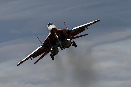 Россия поставила Сирии истребители МиГ-29