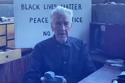 Дэвид Линч поддержал протесты в США при помощи прогноза погоды и циркулярки