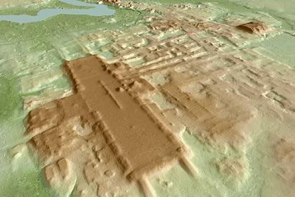 Обнаружено самое гигантское и древнее сооружение майя