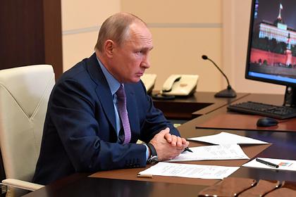 Путин поручил оперативно помочь российскому региону в борьбе с коронавирусом