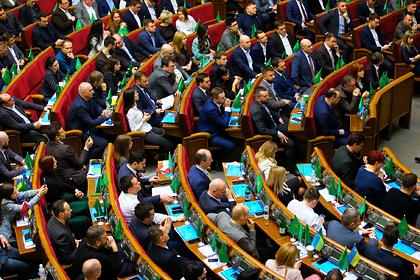 На Украине ввели уголовную ответственность для воров в законе