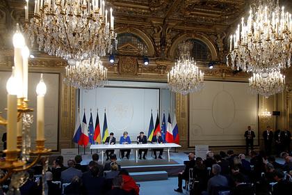 Украина анонсировала «нормандский саммит»