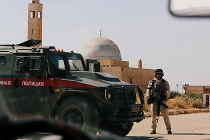 Проблемам российских патрулей в Сирии нашли объяснение