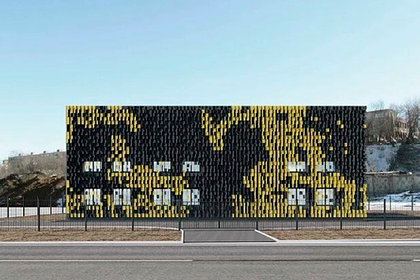 В Москве появится здание в стиле игры Minecraft
