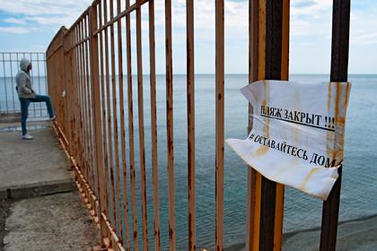 Россияне побоялись ехать на курорты Крыма и Сочи