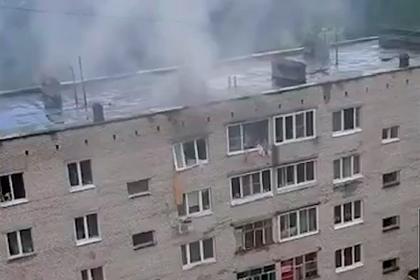Взрыв газа в Подмосковье разрушил стену между квартирами и выбил окно