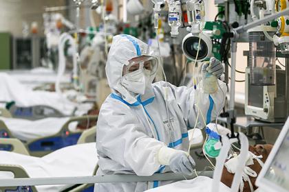 В России выявили 8726 новых случаев заражения коронавирусом