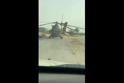 Перевозку захваченного Ми-35 фельдмаршала Хафтара показали на видео