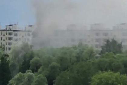 Стало известно о взрыве в жилом доме в Москве