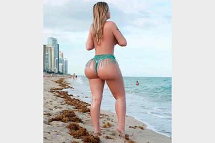 Модель делилась откровенными снимками своего тела и заработала миллион долларов