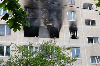 Раскрыта возможная причина взрыва в жилом доме в Москве