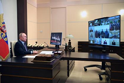 Путин снова устроил разнос из-за ЧП в Норильске