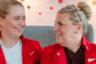 Другие перевозчики, напротив, стремились уйти от всевозможных запретов и требований к внешнему виду стюардесс. Например, британская авиакомпания Virgin Atlantic в марте 2019 года объявила, что отныне ее сотрудницы не обязаны краситься на работу. Отличительной чертой представительниц указанных авиалиний всегда была ярко-красная помада Upper Class Red марки Bare Minerals. Однако руководство компании решило предоставить им «большую свободу самовыражения».