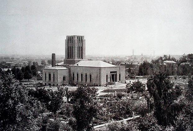 Москва, Донской крематорий,1927 год