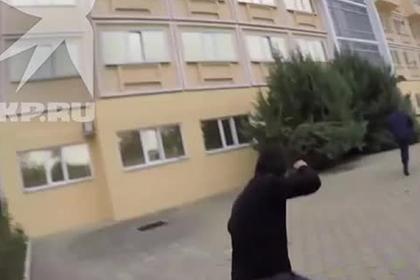Задержание спецназом генерал-майора милиции за попытку убийства попало на видео