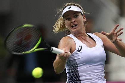 Теннисистка рассказала о страхе коронавируса перед белорусами