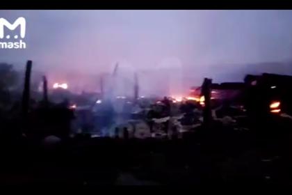 Четверо детей погибли при пожаре в российском регионе