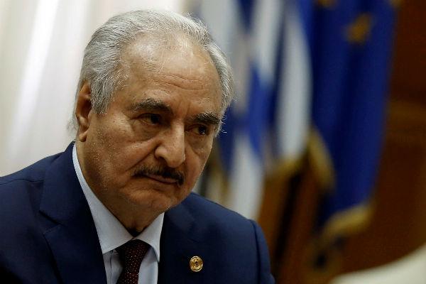 Хафтар не захотел участвовать в восстановлении Ливии