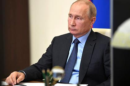 Путин поручил создать Национальную базу генетической информации