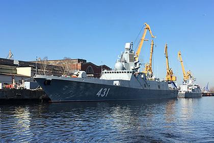Российский фрегат-невидимка завершил госиспытания