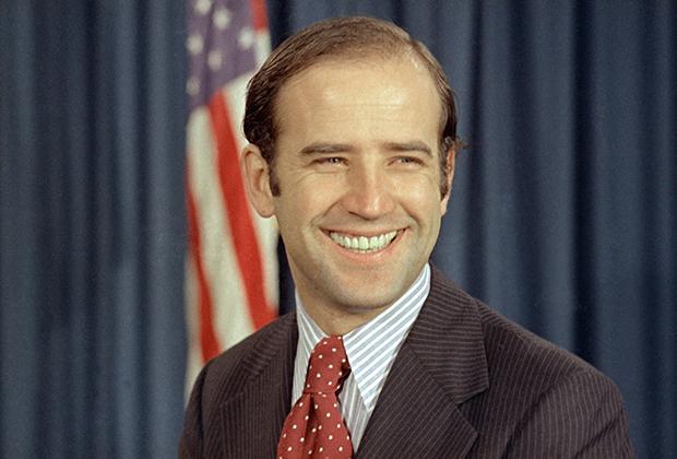 Джо Байден в 1972 году