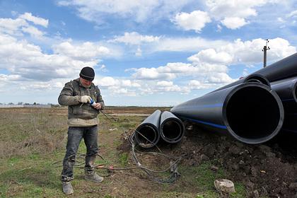 Украина констатировала невозможность подачи воды в Крым