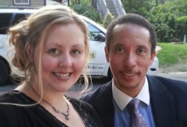 Уильям Аллен Джордан с Мишель Льюис, одной из его жертв