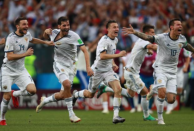Игроки сборной России по футболу