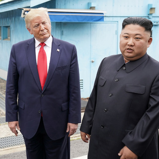 Дональд Трамп и Ким Чен Ын, июнь 2019-го