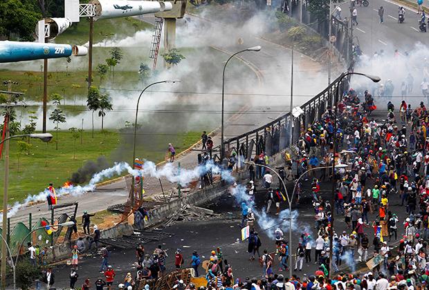 Протесты против Мадуро в 2017 году