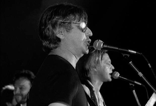 1991 год. Майк и БГ поют «Пригородный блюз»— в последний раз