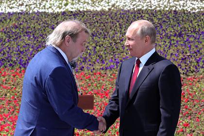 Александр Моторин и Владимир Путин