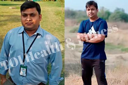 Мужчина сбросил 20 килограммов за семь месяцев и раскрыл секрет похудения