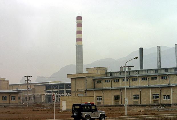Иранский ядерный объект в Натанзе
