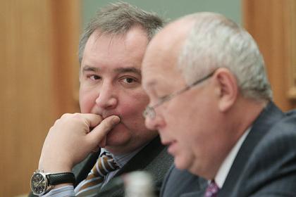 Дмитрий Рогозин и Сергей Чемезов